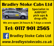 Bradley Stoke Cabs Ltd: 24/7 taxi service in Bristol and South Gloucestershire.