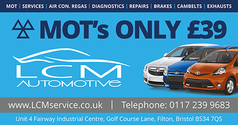 LCM Automotive & Service Centre, Filton, Bristol.