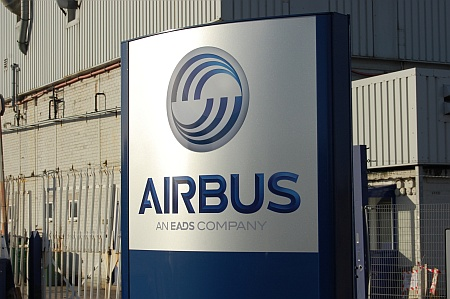 Part of the Airbus site at Filton, Bristol