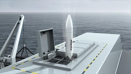 MBDA's Sea Ceptor missile