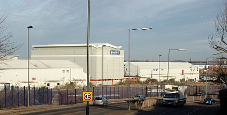 Site of the Airbus Aerospace Park in Filton, Bristol
