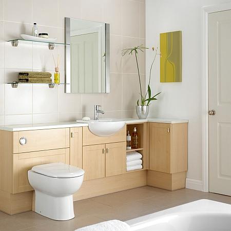 Topfit UK: Sargasso Pear bathroom