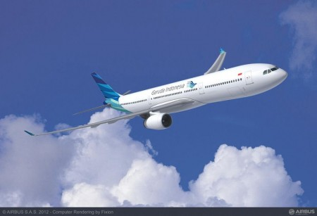 Garuda Indonesia has placed a firm order for 11 more A330-300