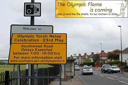The Olympic Torch Relay is coming to Filton, Bristo, on 23rd May 2012.