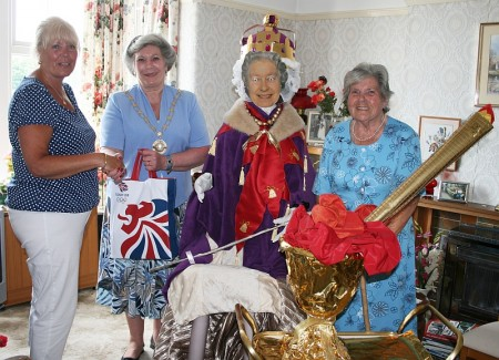 Olympic Torch Relay: Best decorated house prize winners.