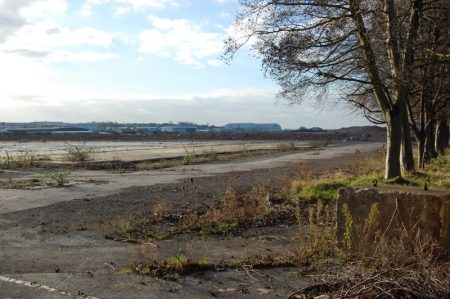 Site of the former Rolls-Royce East Works in Filton, Bristol.