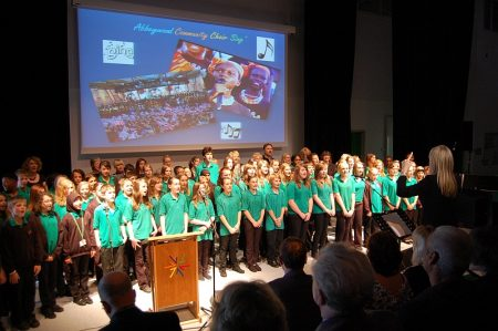 Filton Unsung Heroes Awards 2012 - Abbeywood Community School Choir.