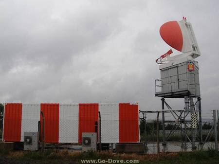 Radar equipment at Filton Airfield, Bristol - offered for sale.