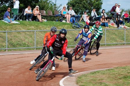 2012 British Cycle Speedway Championships at Elm Park, Filton.