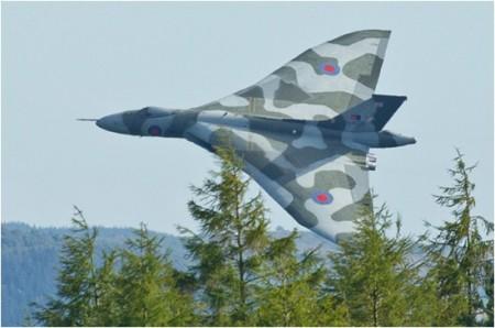 Vulcan aircraft.