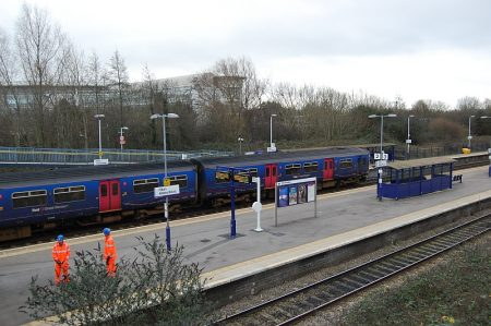 Filton Abbey Wood railway station.