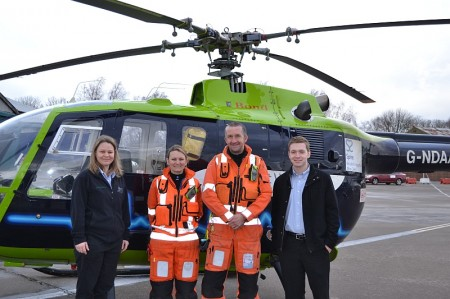 Staff from Filton Sports and Leisure Centre visit GWAAC.