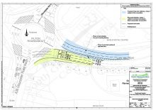 Plan of proposed works at Filton Roundabout (phase 2).