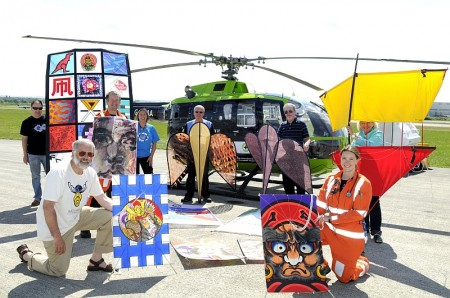GWAAC named as official charity partner for the 2013 Bristol International Kite Festival.
