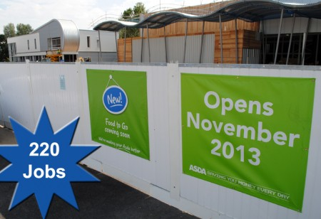 220 jobs available within the new Asda store in Filton, Bristol.