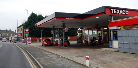 Filton Park Service Station (Texaco). Gloucester Road North.