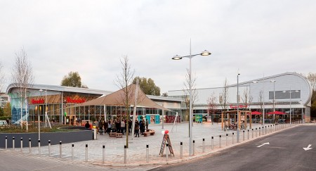 New stores at the Abbey Wood Shopping Park, Filton, Bristol.