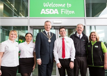 New Asda store opens at the Abbey Wood Shopping Park, Filton.