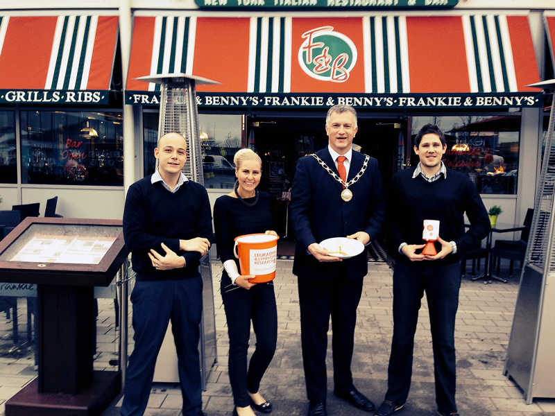 Free Breakfast event at Frankie and Benny's, Filton.