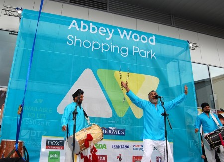 Grand Opening of the new-look Abbey Wood Shopping Park in Filton.