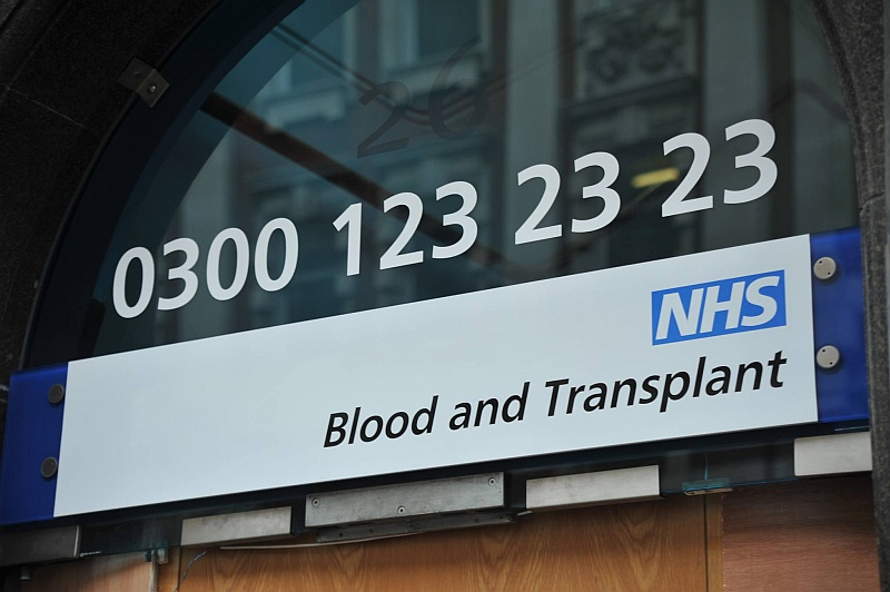 NHS Blood and Transplant.