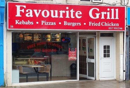 Photo of the Favourite Grill takeaway in Filton.