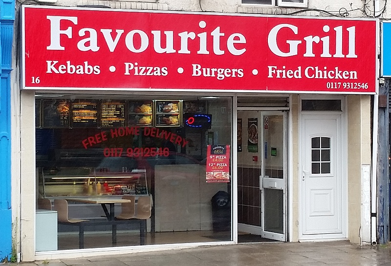 Filton Journal Takeaway Food