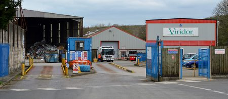Photo of the Viridor waste processing plant in Filton.