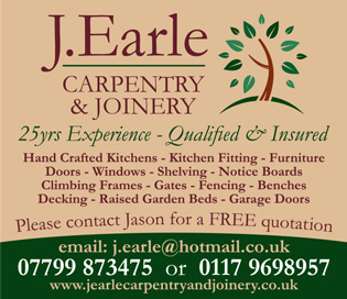 J. Earle Carpentry & Joinery, serving Bristol & South Glos.
